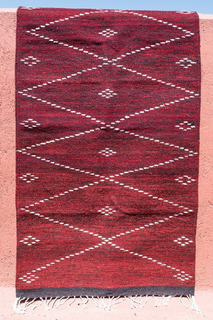 Variedad De Tapetes Artesanales De Lana De Oaxaca 80 X 150cm