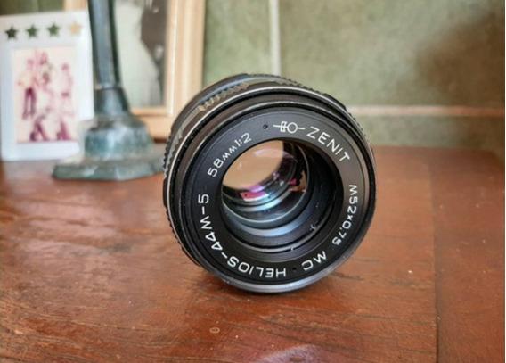 Lente Helios 44m-5 Para Canon Ou Nikon Sony