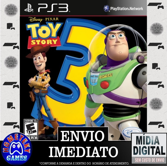 Toy Story 3 The Video Game Psn Ps3 - Pronta Entrega