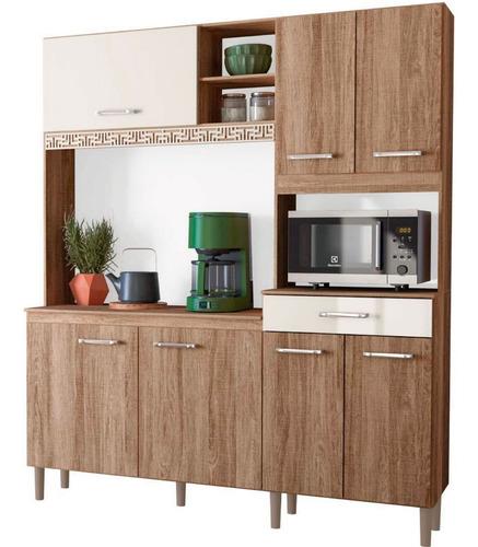 Mueble Cocina Bajo Mesada Aereos Kit Completo Yara