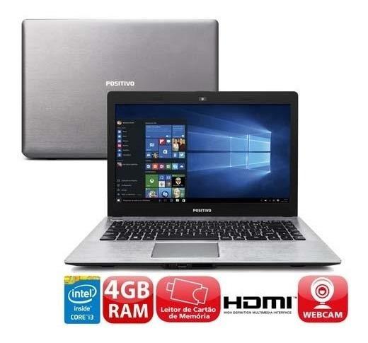 Notebook Positivo Core I3; 500gb; 4gb Ram