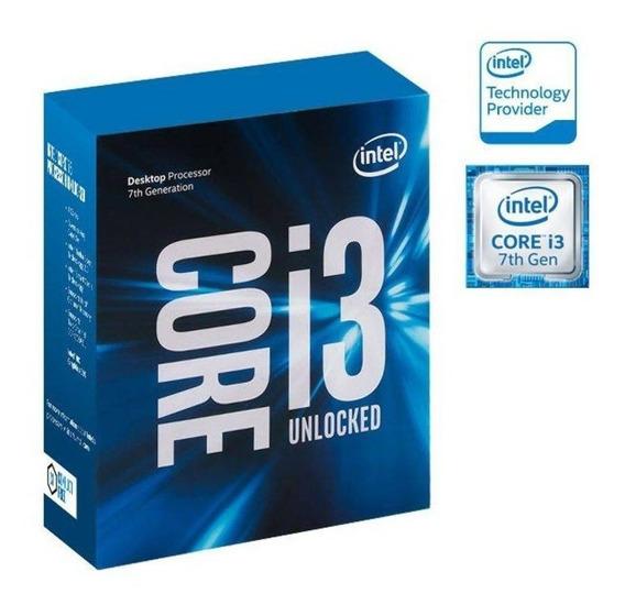 Processador Intel I3-7350k. Lga 1151 / Dual-core / 4.2 Ghz.