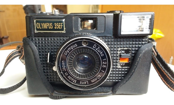 Câmera Fotográfica Analógica Olympus 35ef