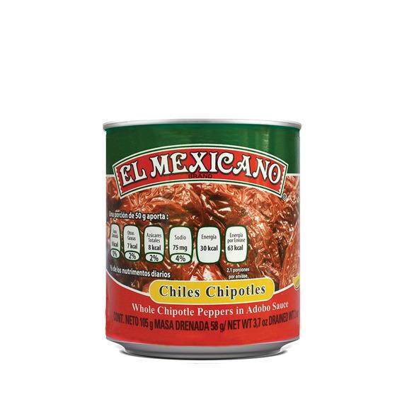 Chiles Chipotles El Mexicano 105 Grs