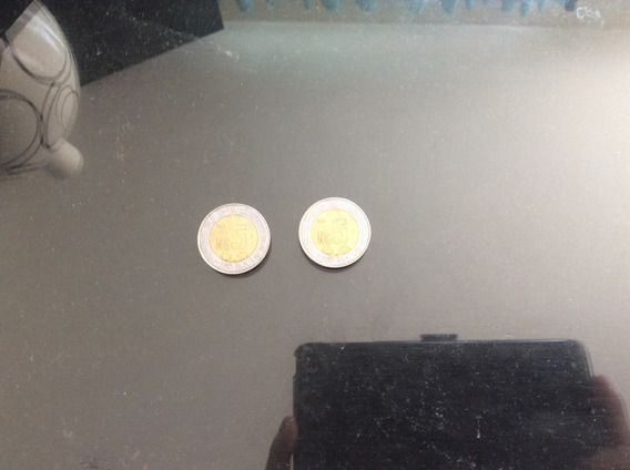 2 Monedas De 5 Nuevos Pesos