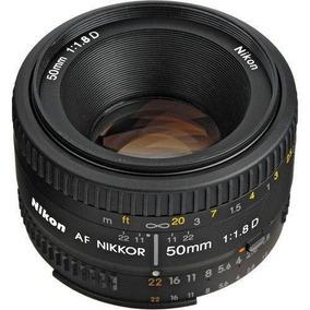 Lente Nikon Af 50 Mm F/1,8d