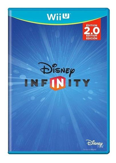 Disney Infinity 2.0 Wii U Mídia Física Pronta Entrega