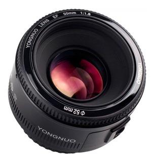 Lente Yongnuo 50mm 1.8 Para Canon Envio Inmediato