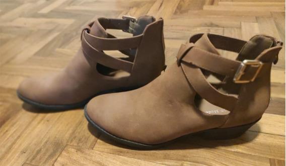 Zapatos Mujer - Cuero Vegano - Top Moda. Talle 41