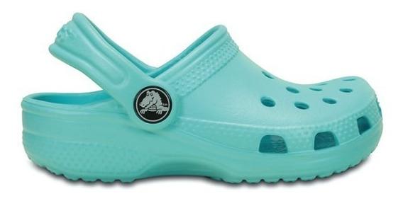 Zapato Crocs Infantil Classic K Aqua