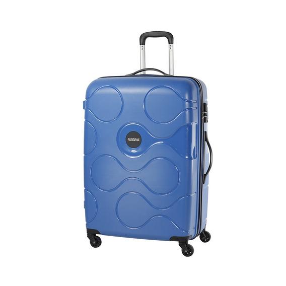 Valija Rígida Acura Expansibl Azul Cabina American Tourister