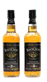 Whiskey Black Crow American Style 3 Años Envio Gratis Caba