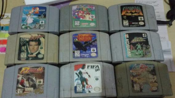 Console Videogame Fita Cartucho Acessório Nintendo 64 N64