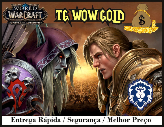 500k Gold,ouro Wow: Azralon,nemesis 400k Goldrinn