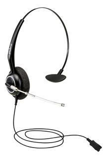 Fone Headset Telefonista Ths 55 Qd Com Cabo 90cm Intelbras