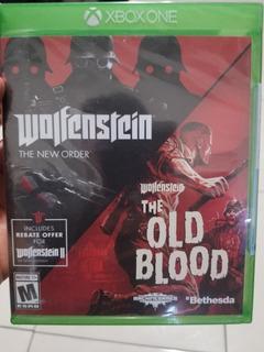 Wolfenstein New Order/ Old Blood Xbox One Nuevo Sellado