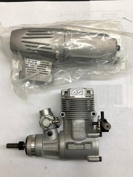 Motor Os-max 46 Ax Para Aviones De Radio-control P/n 15480