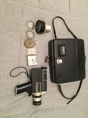 Linda Filmadora Antiga Canon Anos 70