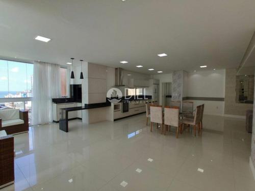 Apartamento Com 4 Suítes 3 Vagas Na Meia Praia - 2577