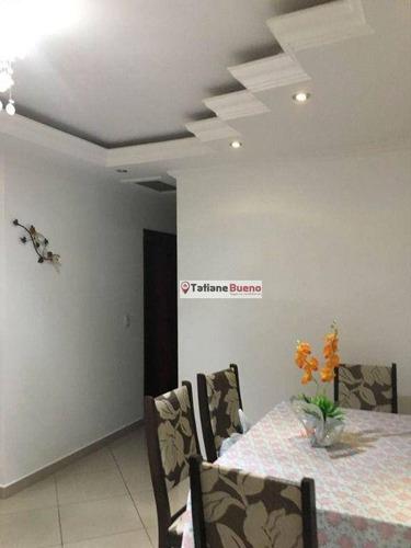 Imagem 1 de 8 de Apartamento Com 3 Dormitórios À Venda, 74 M² Por R$ 362.000 - Vila Industrial - São José Dos Campos/sp - Ap2500