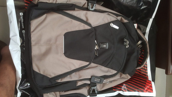 Morral Totto Original Compartimiento Laptop Usb