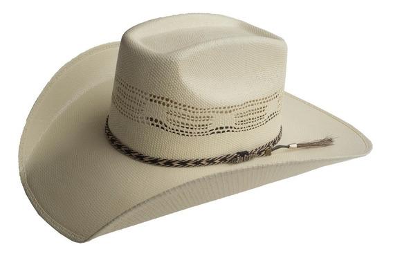 Sombrero Vaquero Para Hombre Cass Con Toquilla Rio Grande