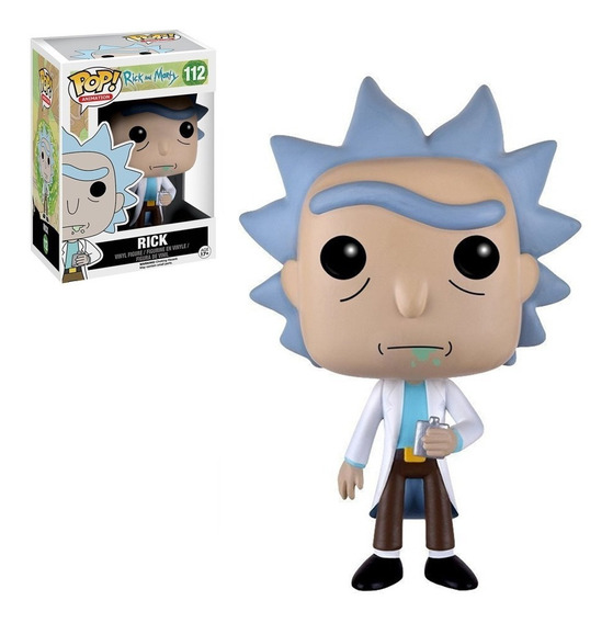 Figura Funko Pop Ricky & Morty - Rick 112