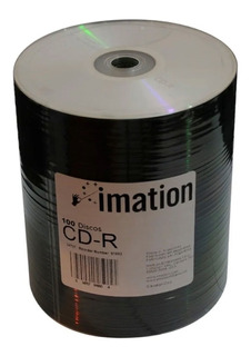 Cd Imation Estampado 52x 700mb Bulk X100 Unidades