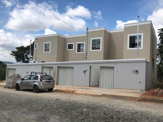 Casa Geminada Individual Dois Quartos Duplex Bairro: Girassol Ribeirão Das Neves - 1453