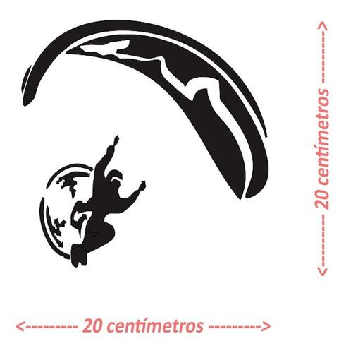 Adesivo Paraglider Paramotor Parapente Voo Duplo 6