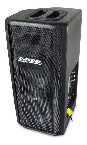 Caixa Som Ativa Falante 2x8 200w Rms Profissional Bluetooth