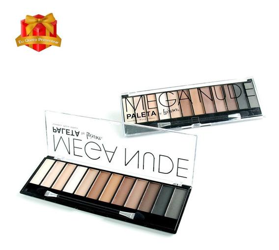 Paleta Sombra Para Os Olhos Mega Nude L689 Luisance