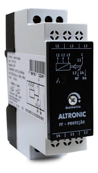 Rele De Falta De Fase Sem Neutro Altronic Ff01 220/380vca