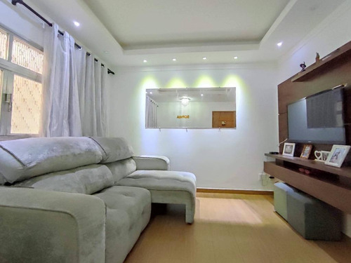 Apartamento À Venda, 77 M² Por R$ 336.000,00 - Vila Matias - Santos/sp - Ap1730