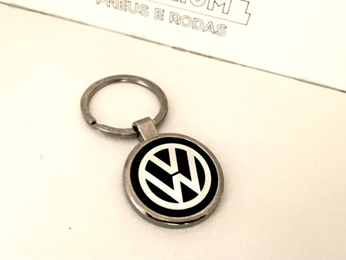 Imagem 1 de 4 de Chaveiro Volkswagen Vw Cromado - Temos Fiat Toyota Gm