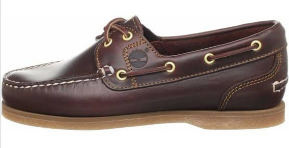 Zapato Timberland Amherst 2 Eye Rootbeer #4 Mex Nuevos Mujer