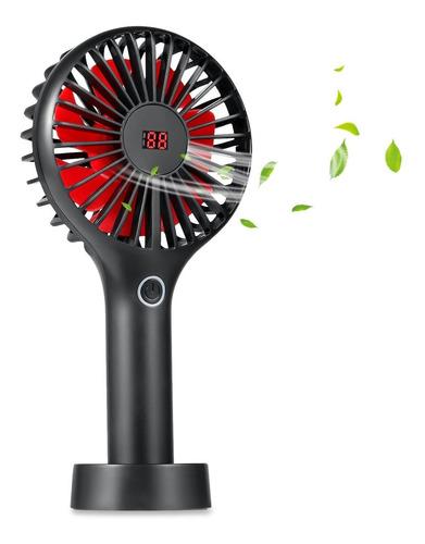 Ventilador De Mano Operado A Batería, Mini Ventilador D...