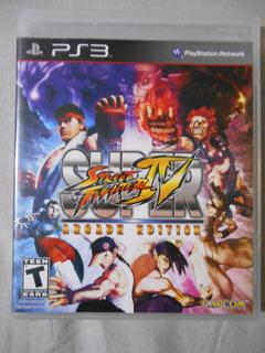 Super Street Fighter Iv Ps3 Vendo Mandos Juegos Ps1 Ps2 Ps3