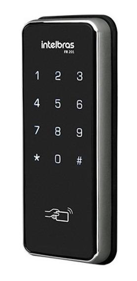 Fechadura Digital Intelbras Fr 201 Tag Rfid Senha E Touch