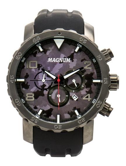 Relógio Magnum Cronógrafo Ma33817w Camuflado