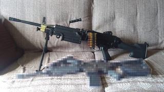 Airsoft Aeg - M249 Mk2 A&k