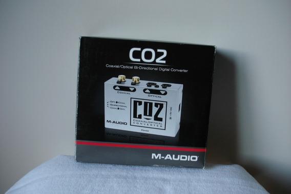 M-audio Co2 Conversor Digital Optico Coaxial Bidireccional