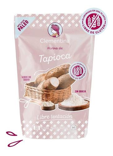 Imagen 1 de 4 de Harina Sin Gluten De Tapioca Clementina