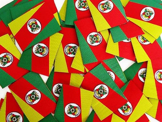 50unid Etiqueta Bandeira Rio Grande Do Sul - Termo Colante -