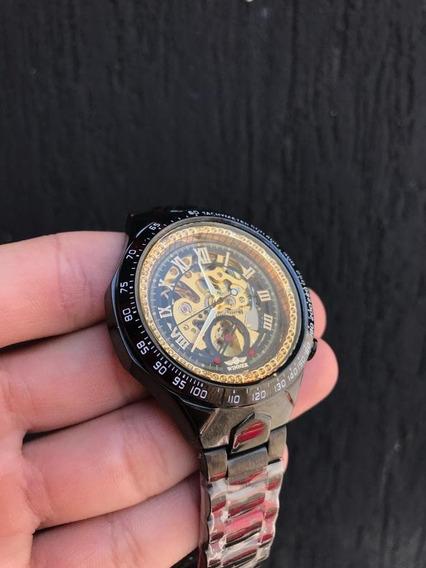 Relógio De Luxo Winner Automático