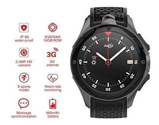 Smartwatch Amazfit Allcall W2 3g Prova Dágua Relógio Celular