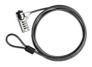 Candado Nisuta Notebook Netbook Cable Acero Clave Ns-prono