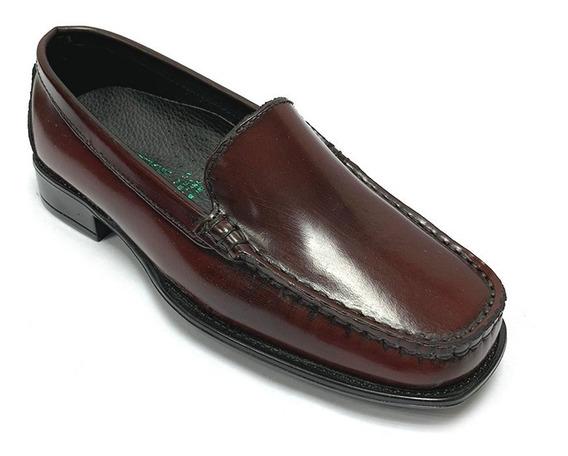 Zapatos Mocasines Full Time Dama Vinotinto Ft 0102 Corpez 35