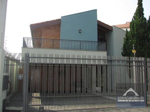 Sobrado Com 4 Dormitórios À Venda Por R$ 1.060.000 - Parque Campolim - Sorocaba/sp, Próximo Ao Shopping Iguatemi. - So0105