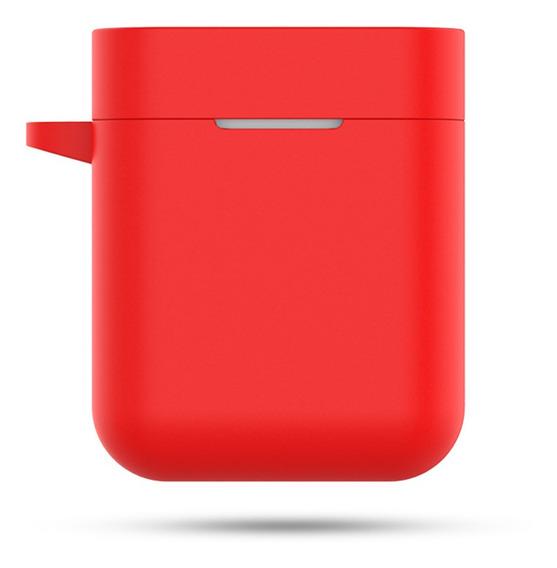 Funda De Silicona Para Xiaomi Airdots Pro Air Rojo
